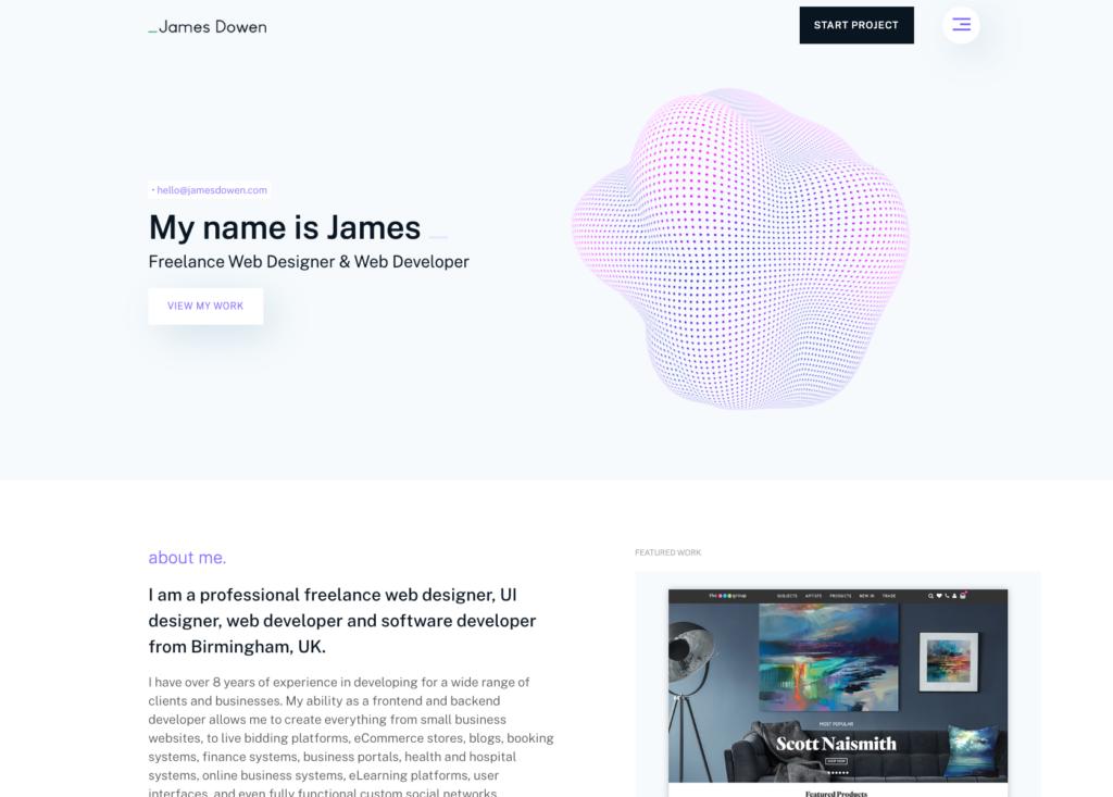 Web Development James Dowen